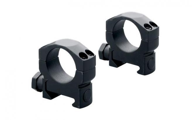 Кольца Mark 4 на Weaver 26 мм средние, стальные, матовые, винтовой зажим
