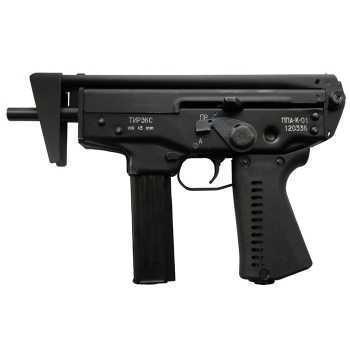 Пневматический пистолет ТиРэкс ППА-К-01 (со складным прикладом) 4,5 мм