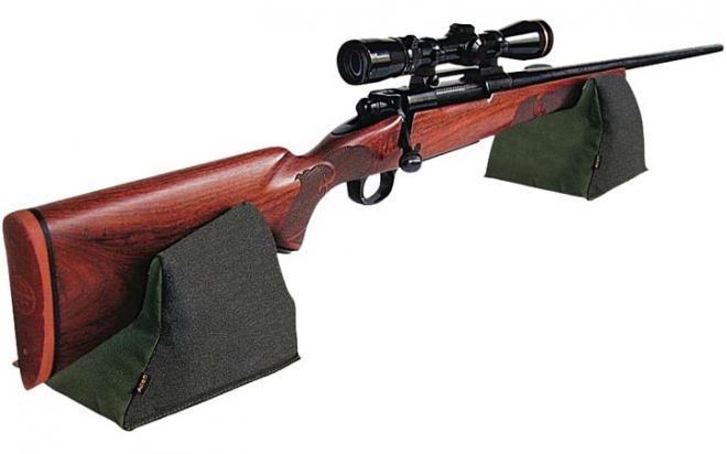 Мягкая опора Allen для оружия 7,6х22,8х12,7 см (передняя и задняя часть, цвет - Tan)
