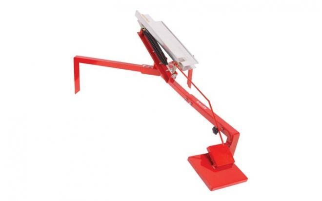 Машинка для метания тарелочек Allen XCELERATOR CLAYMASTER (с педалью, регулир.угол, 6,3кг, красный)