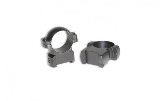 Кольца средние матовые не быстросъемные 30мм для CZ 550, металл