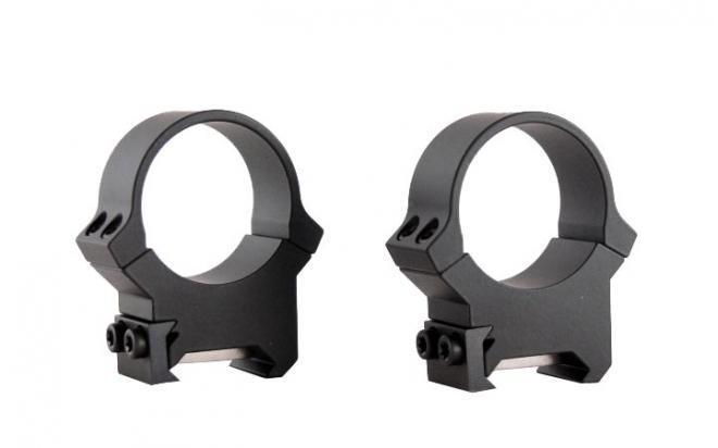 Кольца Leupold PRW 26 мм на Weaver/Picatinny не быстросъемные (высокие, матовые, металл, 226гр)