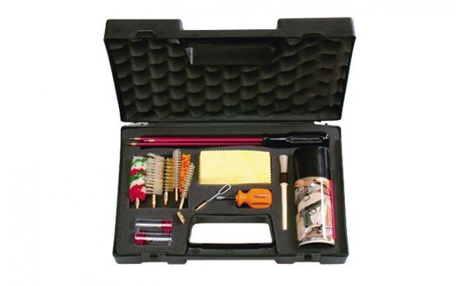 Набор Remington для чистки оружия кал. 9 (в пласт кейсе)