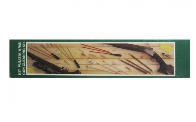 Набор LUCKY VIEW (Kami La Trading) для чистки оружия кал. 4,5 (шомп, 3 ерша)