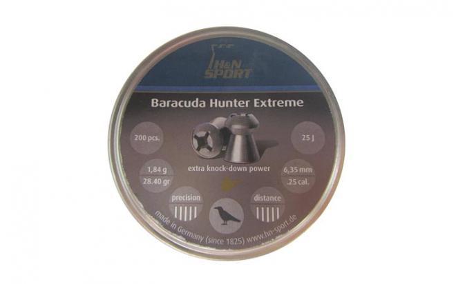 Пули пневматические H&N Baracuda Hunter Extreme 6,35 мм (200 шт.)