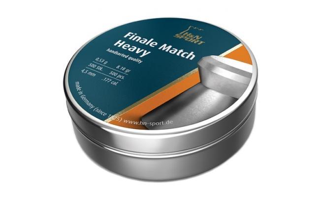 Пули пневматические H&N Finale Match Heavy для винт. гладк. 4,5 мм (500 шт.)