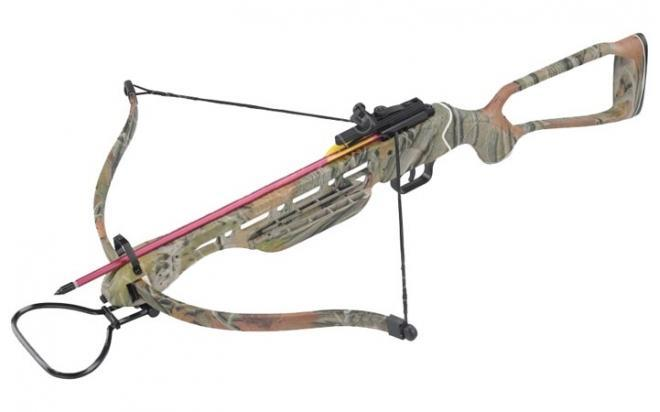Арбалет рекурсивный MK (Man-Kung) 150A2AC (прицел, 2 стрелы, натяжитель, воск, запасные плечи)