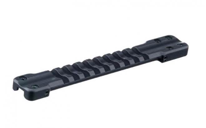 Основание Weaver для установки на вентилируемую планку гладкоствольных ружей (ширина 11,0-12,1мм)