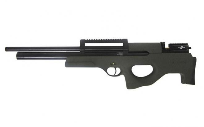 Пневматическая винтовка Ataman M2R Булл-пап 5,5 мм (Зелёный)(магазин в комплекте)(435/RB)