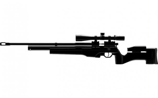 Пневматическая винтовка Ataman M2R Тактик Тип I 5,5 мм (Чёрный)(магазин в комплекте)(225/RB)