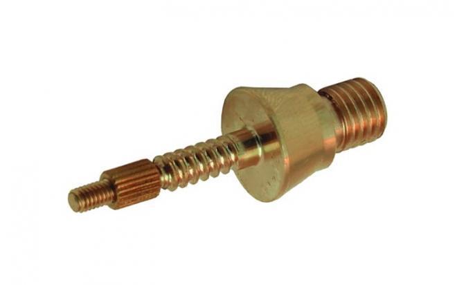 Адаптер-иголка A2S GUN № 9 к гладкоствольным шомполам Dewey, Tipton, латунь