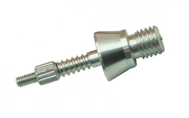 Адаптер-иголка A2S GUN № 9-M7, для деревянных шомполов производства РФ и СССР, дюраль