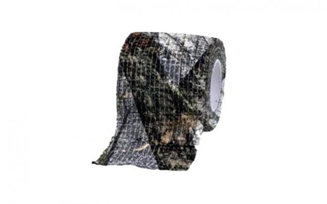 Камуфляжная лента Allen многоразовая (Mossy Oak Winter, длина 13,7 м, ширина 5 см