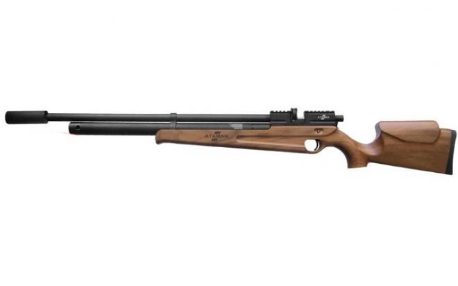 Пневматическая винтовка Ataman M2R Карабин 5,5 мм (Дерево)(магазин + модератор)(115/RB)