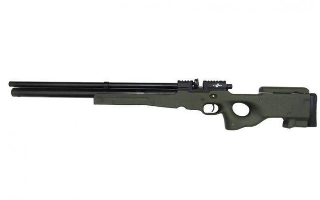 Пневматическая винтовка Ataman M2R Тип II Тактик 9 мм (Зелёный)(магазин в комплекте)(H339/RB)
