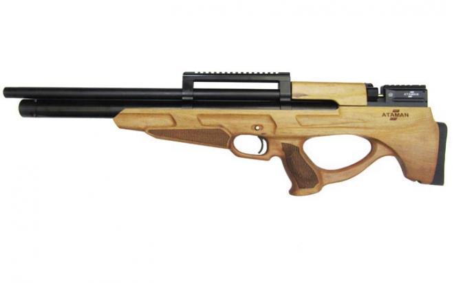 Пневматическая винтовка Ataman M2R Булл-пап SL 7,62 мм (Дерево)(H817/RB-SL)