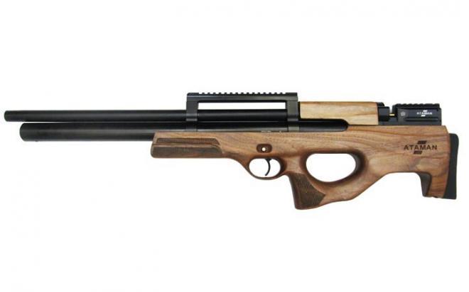 Пневматическая винтовка Ataman M2R Булл-пап SL 7,62 мм (Дерево)(магазин в комплекте)(H417/RB-SL)