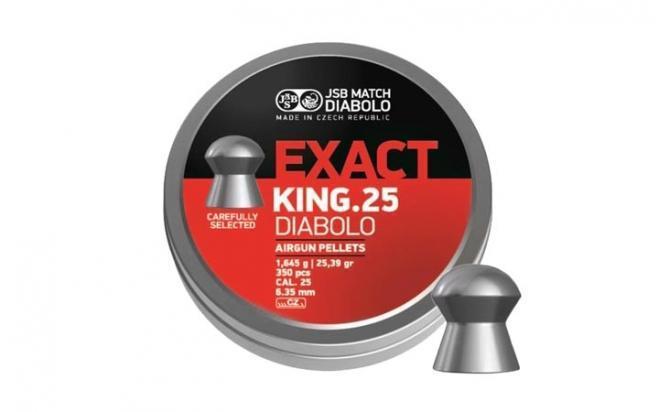 Пули пневматические JSB Exact King 6,35 мм 1,645 гр (350 шт.)
