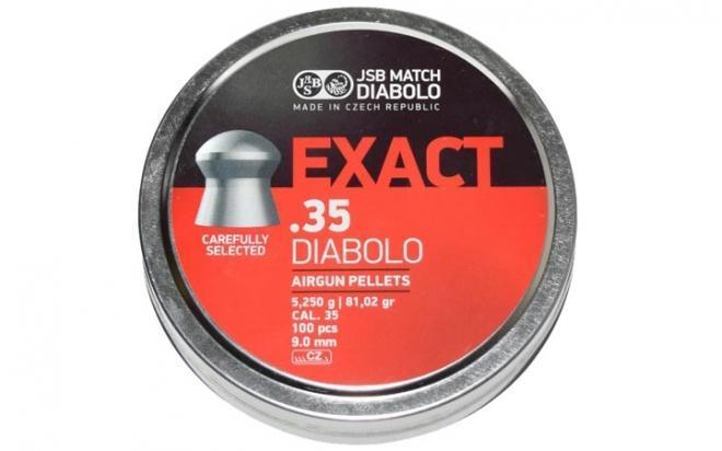 Пули пневматические JSB Diabolo Exact 9 мм 5,2 гр (100 шт.)