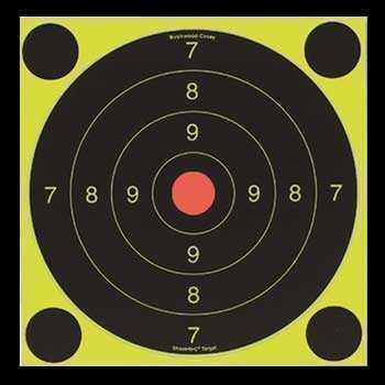 Мишень Scoot N C Self-Adhesive Targets 150 мм, 12 шт. в уп. + 48 наклеек