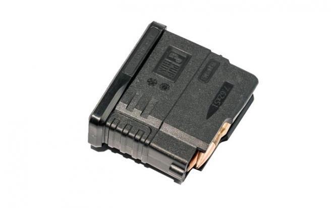 Магазин Pufgun Вепрь-308 (5 патронов, полимер, черный, 90 гр)