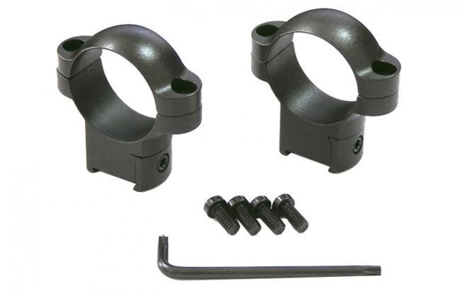 Кольца Leupold 30 мм на CZ 550, не быстросъемные (высокие, матовые, металл)