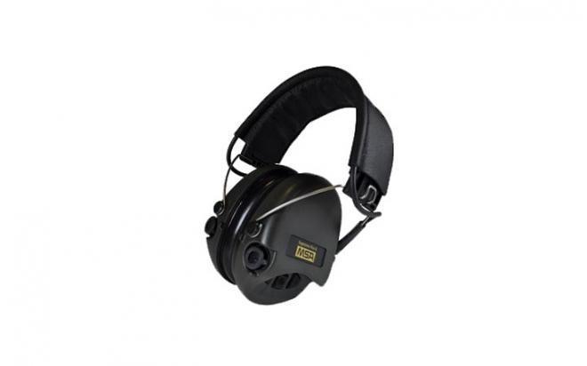 Наушники активные MSA Sordin Supreme Pro-X стерео, черный/черный