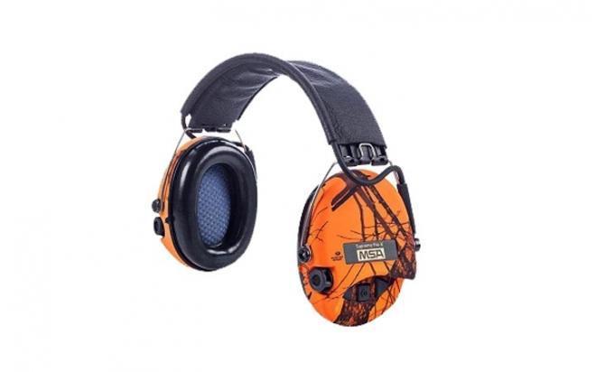 Наушники активные MSA Sordin Supreme Pro-X Camo, orange-MossyOak/черный