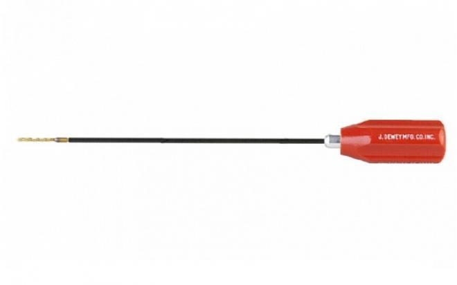 Шомпол Dewey для нарезного оружия кал. от .35 (9 мм) (длина 112 см, в нейлоновой оплетке, резьба папа 12/28)
