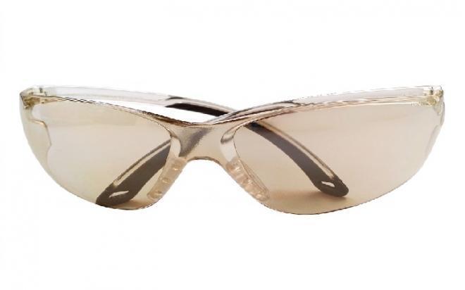 Очки стрелковые защитные Stalker, зеркально-серые