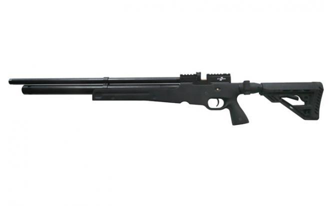 Пневматическая винтовка Ataman M2R Тип III Карабин Тактик SL 6,35 мм (Черный)(магазин в комплекте)
