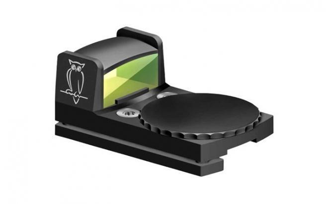 Коллиматорный прицел DOCTERsight QUICKsight VR 1х19х7,6 для ружей на вент.планку до 10 мм (точка 5MOA красн., автояркость)