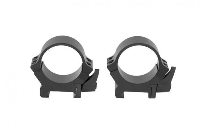 Кольца Leupold QRW2 26 мм на Weaver/Picatinny быстросъемные (низкие, матовые, сталь)