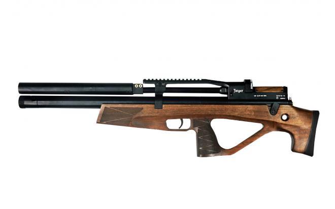 Пневматическая винтовка Jæger SPR Булл-пап 6,35 мм (редуктор, ствол 470 мм., чок)