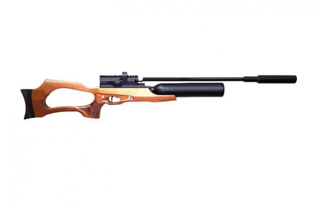 Пневматическая винтовка Jæger SP Карабин с колбой 5,5 мм (прямоток, ствол 550 мм., полигональный без чока)