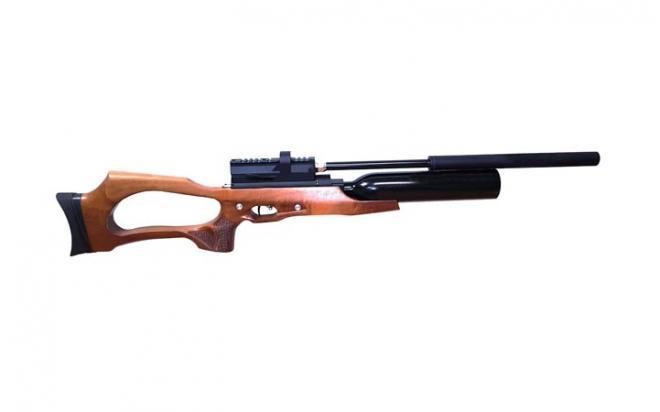 Пневматическая винтовка Jager SP Карабин с колбой 6,35 мм (прямоток, ствол 470 мм., без чока)