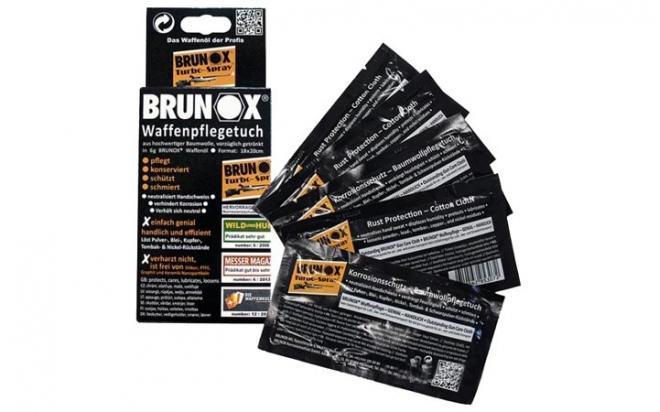 Оружейная смазка Brunox Gun Care 6 мл пропитанный тампон