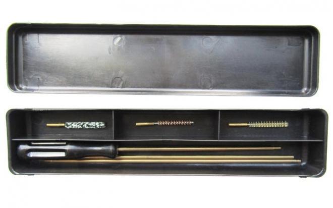 Набор для чистки оружия кал.4,5 мм (СпектР)(латун. шомпол 4 мм)