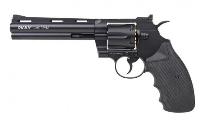 Пневматический револьвер Diana Raptor-6 4,5 мм