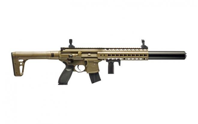 Пневматическая винтовка Sig Sauer MCX 4,5 мм (MCX-177-FDE)