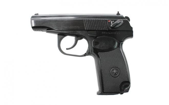 Пневматический пистолет МР-658К 4,5 мм