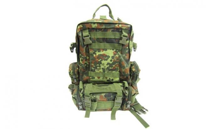 Рюкзак с тремя сумками (камуфляж)