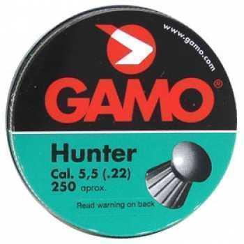 Пули пневматические GAMO Hunter 5,5 мм (250 шт.)