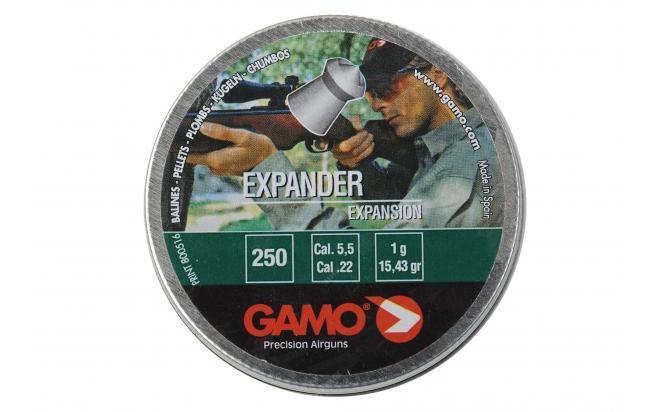 Пули пневматические GAMO Expander 5,5 мм (250 шт.)