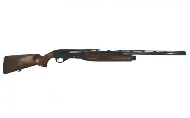 Ружье МР-155-157 12/76 орех,прав.,3 д.н.,4 п.,сп.кр.никель,улучш.дизайн,ряд, L=710, смен.ствол L=660