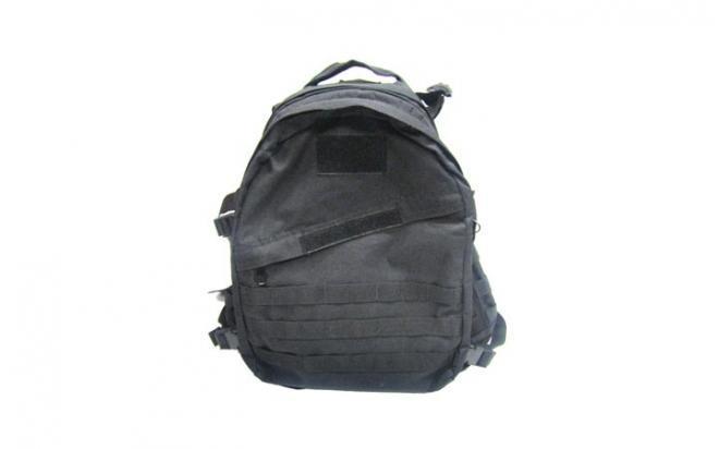 Рюкзак Маршевый косая молния (черный)