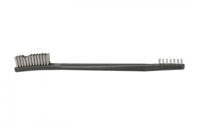 Щетка Bore Tech двухсторонняя (большой и малый ворс, нержавеющая сталь)
