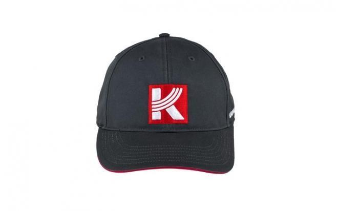 Бейсболка КК уни LOGO (серый)
