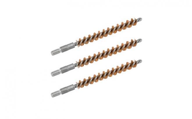 Набор ершиков (3 шт.) Bore Tech кал. 44-.45 (11 мм) (резьба папа 8/32, бронза)