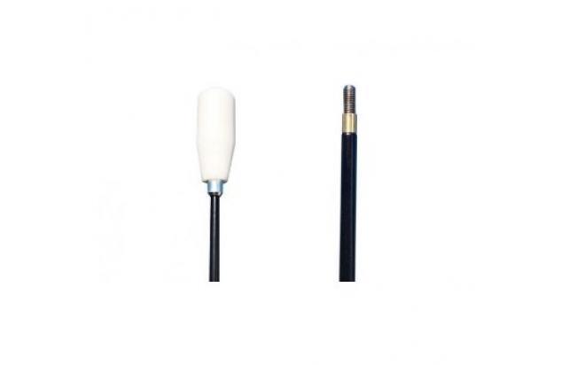 Шомпол ЧИСТОGUN кал. 27-.34 (6 мм) (длина 60 см, в нейлоновой оплетке, резьба папа 12/28)